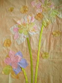 あなたのお花 - eri-quilt日記3