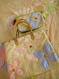 手染めで作る小物たち - eri-quilt日記3