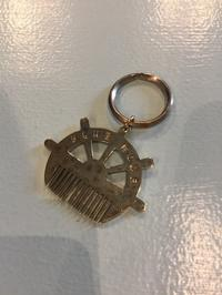 HOLLYWOOD RANCH MARKET / SHIP WHEEL HAIR COMB KEY RING - Safari ブログ