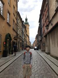 ポーランド旅行記(18)ワルシャワ旧市街でくつろぐ - 本日の中・東欧