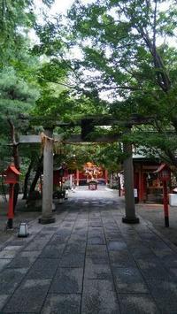 冠稲荷神社にて - 占い師 鈴木あろはのブログ
