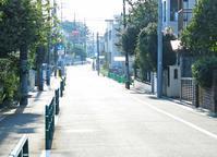 <人影もない町>2019年杉並区 - 藤居正明の東京漫歩景