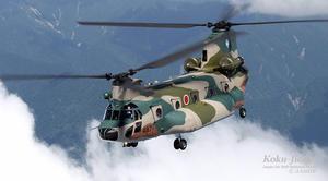 CH-47J - ラジコン飛行機とお百姓