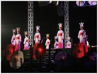 山鹿灯籠まつりの千人燈籠踊り、出かけて良かった、見られてよかった\(>∀<)/ - さくらおばちゃんの趣味悠遊