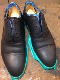 染替え経過 - Shoe Care & Shoe Order 「FANS.浅草本店」M.Mowbray Shop