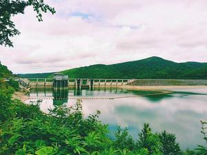 旭川1泊2日 忠別湖でダムカード - ピースケさんのお留守ばん