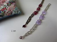 スワロフスキーのブレスレットをネックレスにリメイク 1 - Lien Style (リアン スタイル)