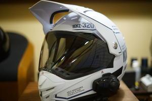 新ヘルメットの使い心地 - 幸せの黄色いクロスカブ