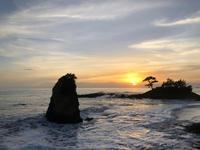 美しすぎる立石海岸の夕日とイタリアレストラン「Don」 - Coucou a table!      クク アターブル!