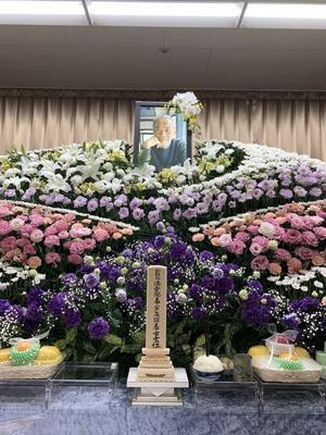 お葬式無事終了 - 空飛ぶ膵臓がんオヤジ