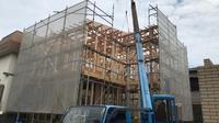 高知市I様邸上棟☆ - ファンハウスアンドデザイン │ 高知県のオーダーメードの新築・リフォーム