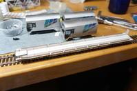 【鉄道模型・HO】クサ1000に挑戦中 ・4 - kazuの日々のエキサイトな企み!