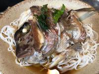 8月20日、鯛ソーメン、メバル煮付け、母婆が作った肉じゃが - 今夜のおかず