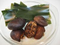 出汁とったあとの昆布と椎茸 - sobu 2