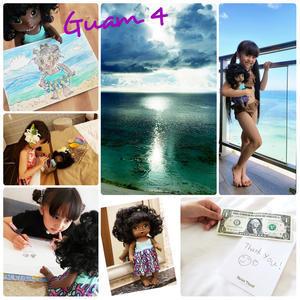 Guam*4(アムアムちゃん!) - 『ちぃちゃん家のちくびウサギ。』(安間千紘公式ブログ)