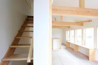 ストリップ階段と青いタイルと…板橋の家 - 成長する家 子育て物語