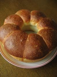残った材料で、ちぎりクリームパン - slow life,bread life