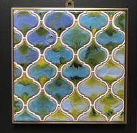 スペインタイルアートのオーダーを受けています。 - スペインタイルアートYumi  <Spain Tile Art Yumi >La casa de la oliva  オリーブの家