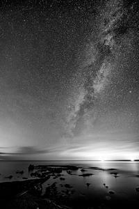 モノクロームな星たち - Tom's starry sky & landscape