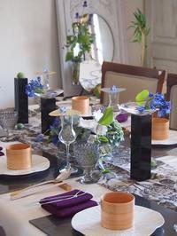 涼を感じるおもてなしのテーブル - MY Dear LIFE