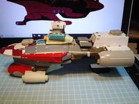 0823 - Hyper weapon models 模型とメカとクリーチャーと……