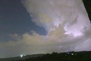 窓閉めよう家も車も雷鳴れば、雷雨到来 イタリア中部 - イタリア写真草子 Fotoblog da Perugia