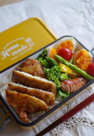 今日の豚照り焼き弁当と9月料理教室 - sweet+