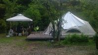 2254. 白馬森のわさび園キャンプ場令1年8月14日 - 初心者目線のロードバイクブログ