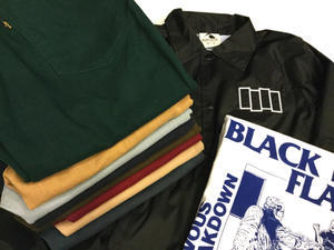 「 BLACK FLAG & Levi's STA-PREST 」 - GIANT BABY    used&vintage clothing & culture & happy