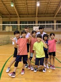 金曜日の練習🎶 - 橋北バレーボール少年団~成長日記~