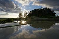 早苗宿る天皇陵 - katsuのヘタッピ風景