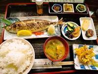 京都市 30年ぶり?の焼魚? ふく井 - 転勤日記