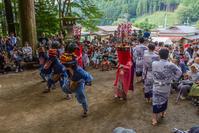 獅子舞@下名栗諏訪神社 - デジカメ写真集