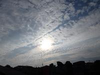 朝空(8/25) - ほのぼのはうす