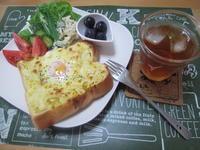 ボリューム満点!卵のっけトースト - candy&sarry&・・・2