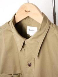 HS EQUIPMENT コットンワークシャツ - 【Tapir Diary】神戸のセレクトショップ『タピア』のブログです