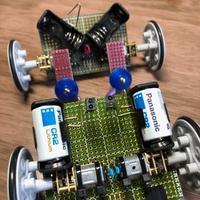 2WD ロボット改 - ちょこっとした理科の小道具
