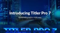 【8/16バージョンアップ】NewBlueFX Titler Pro 7【体験版あり】 - 物欲的な