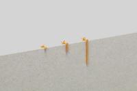 _Fot  line earring 30mm(triangle) - suifu