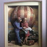 コラボ展大人Ka・wa・iiVol7 - アートで輪を繋ぐ美空間Saga