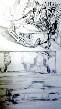 下描き続き - HIRAKAWA JUN 平川 準 描いたり弾いたり