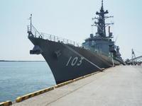2019.08.04 護衛艦ゆうだち見学1 - ジムニーとハイゼット(ピカソ、カプチーノ、A4とスカルペル)で旅に出よう