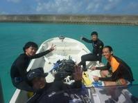 まだ影響は残っていましたが・・・~糸満近海ガイド付きボートダイビング(ファンダイビング)~ - 沖縄本島最南端・糸満の水中世界をご案内!「海の遊び処 なかゆくい」