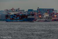 城南島から見るコンテナ埠頭 - OGA☆写