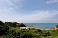 小浜の海を望む2019年8月26日 - 鉄道日和