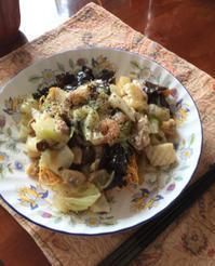 皿うどん - 地上50mでも野菜はできました、そして3mへ