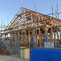「カリフォルニアスタイルの家」上棟式でした - 桂建設の日々ブログ
