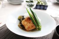 揚げ出しなすと揚げ出し豆腐 - 登志子のキッチン