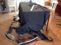 ちくちくとお裁縫。Biminiやドジャーの修繕。 - フランス存在日記