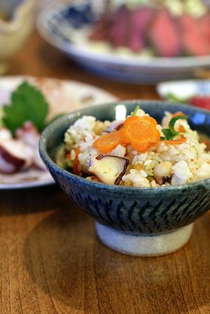 タコ飯と青椒肉絲 - KICHI,KITCHEN 2